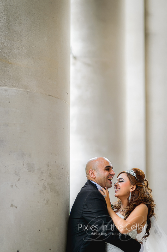 Manchester library wedding photography