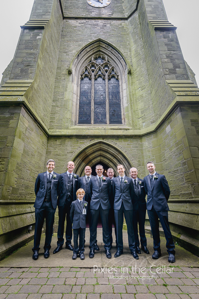 Groomsmen Worsley Wedding
