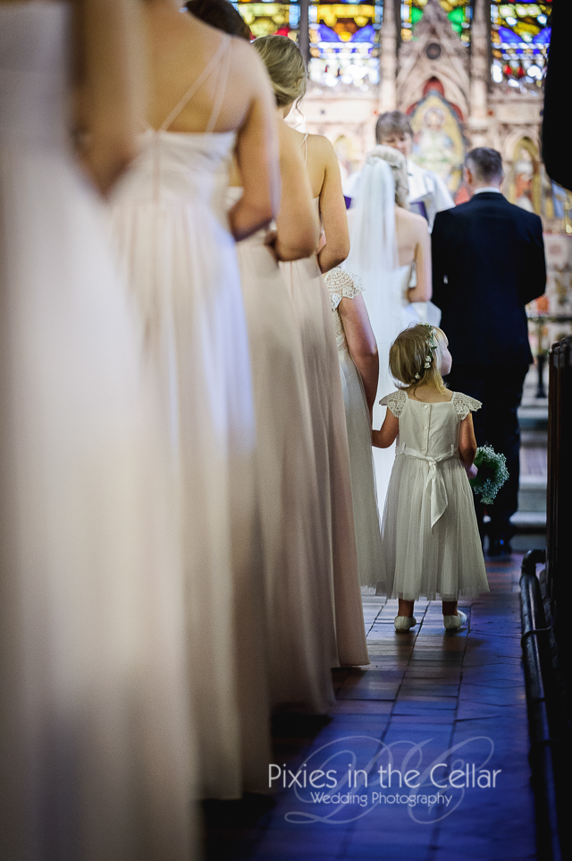 Flower girl manchester Wedding