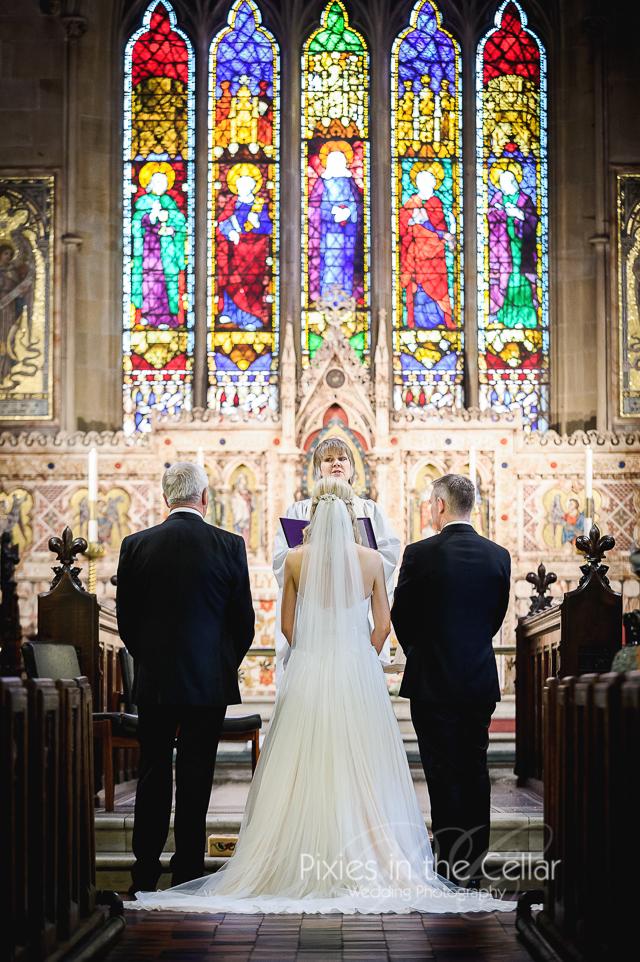 Church Wedding ceremony Worsley