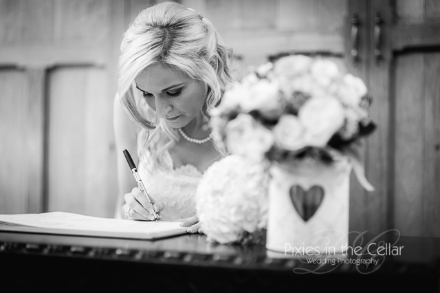 Manchester black and white wedding photography