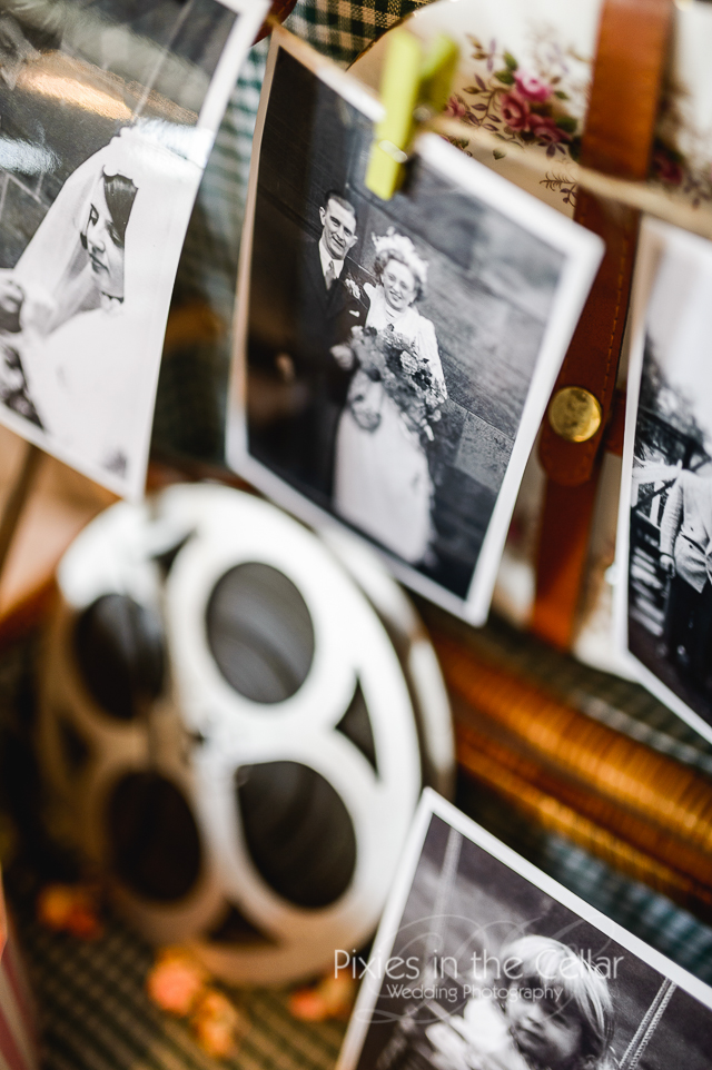 Wedding films and vintage theme