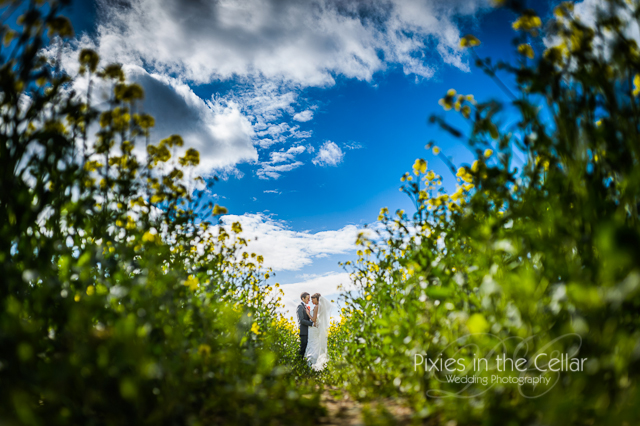 Manchester photographer landscape wedding photography at Mythe Barn