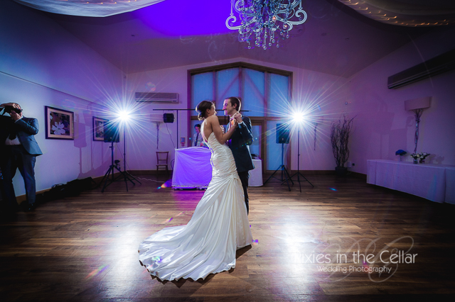 Mythe Barn Wedding first dance