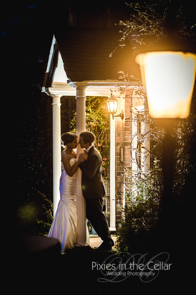 Spring wedding at Mythe Barn