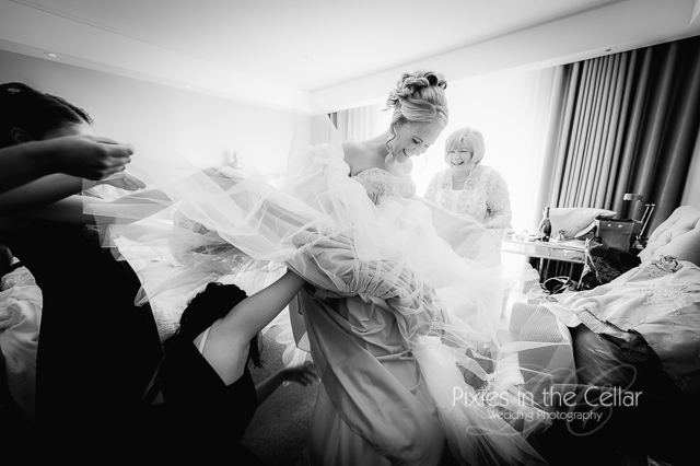 Manchester documentary wedding photographer