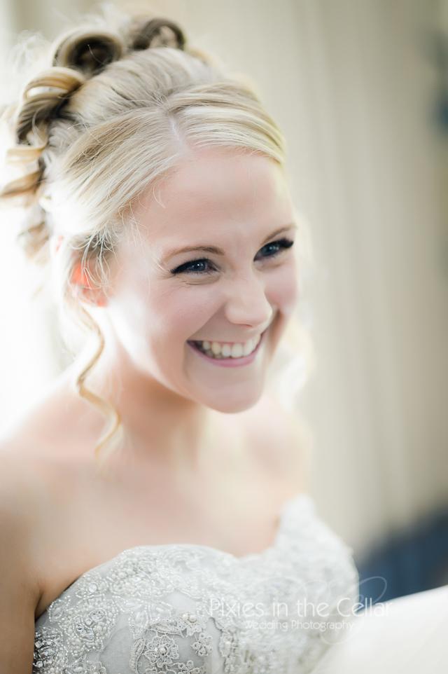 Yorkshire Wedding Smiley bride -23