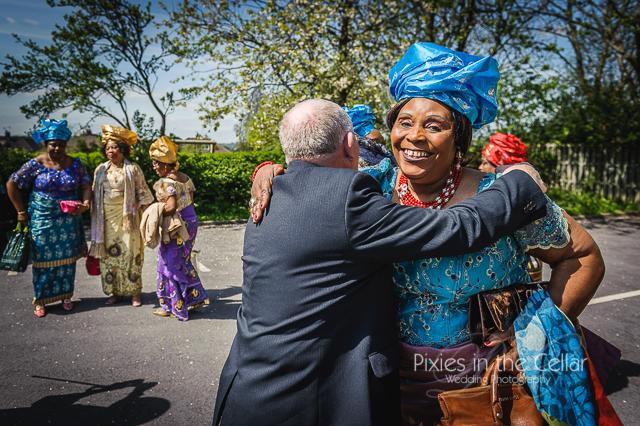 English Nigerian Wedding