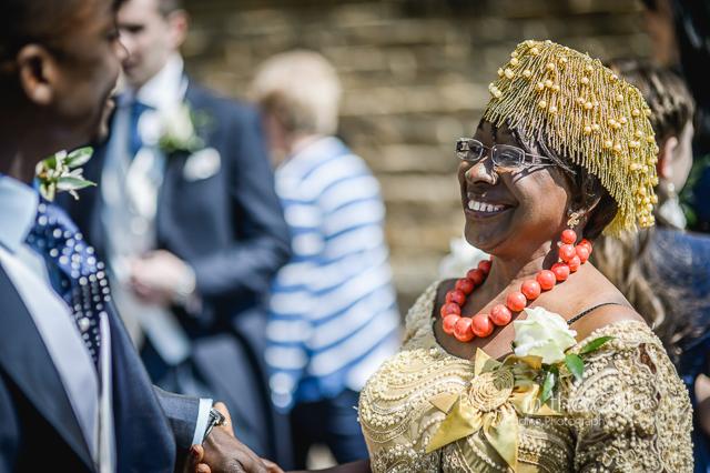 Nigerian wedding mother of groom