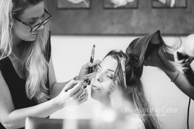 Bridal prep Manchester photographer