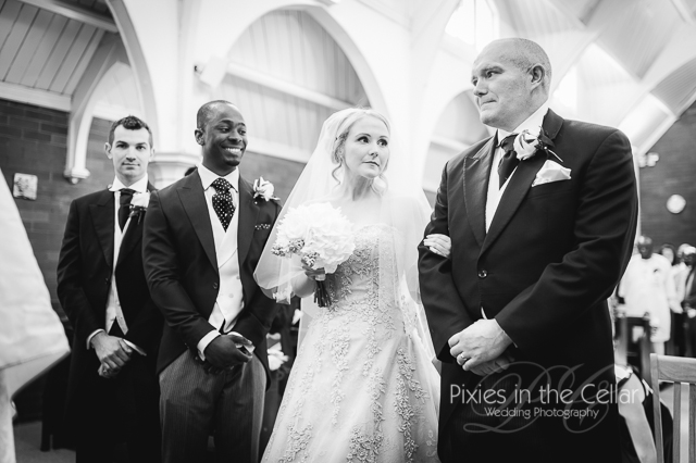 bestman groom bride and dad
