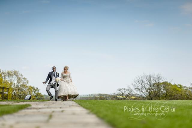 wedding funny walks