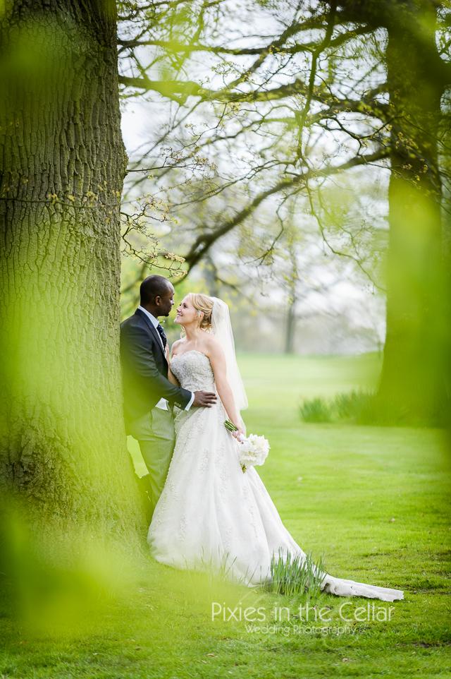 spring wedding photo