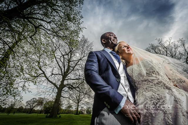 Rudding Park hotel bride groom