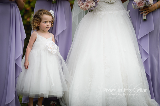 Flower girl Manchester wedding