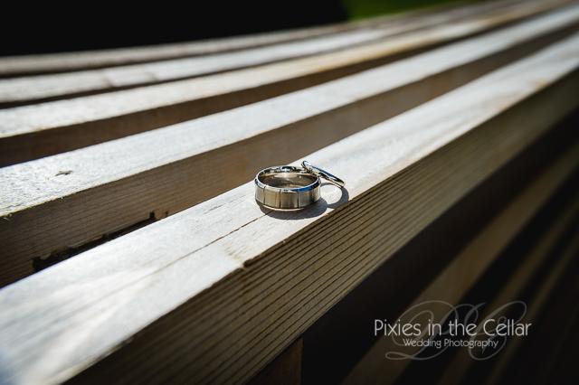 Rudding Park hotel Wedding photography rings