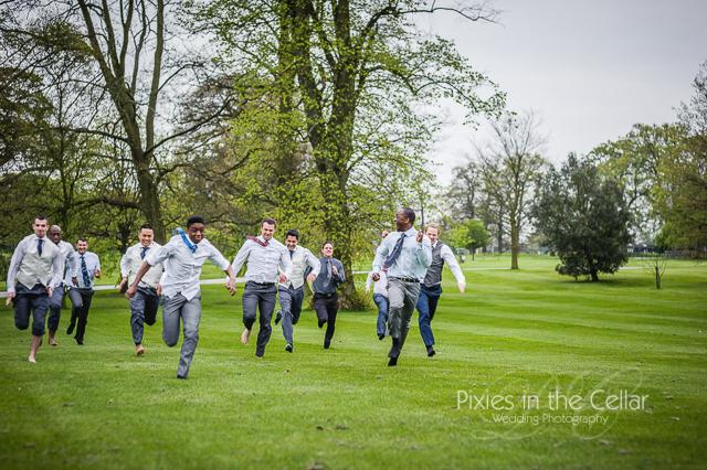 Rudding Park Wedding races
