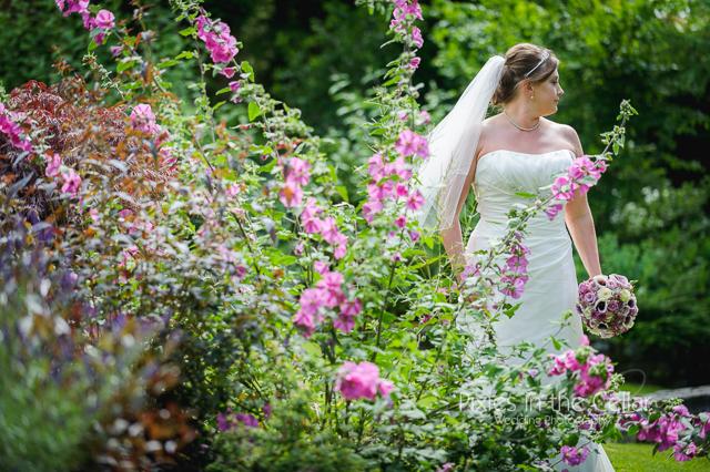 Saddleworth summer bride