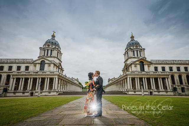London wedding photography in Kimono