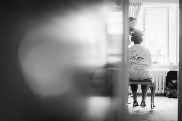 Arley Hall Wedding Bridal prep