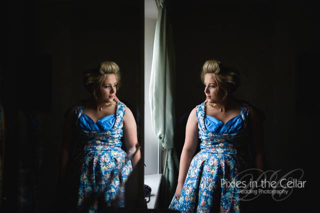 Arley Hall Wedding Photography 1950s bridesmaids