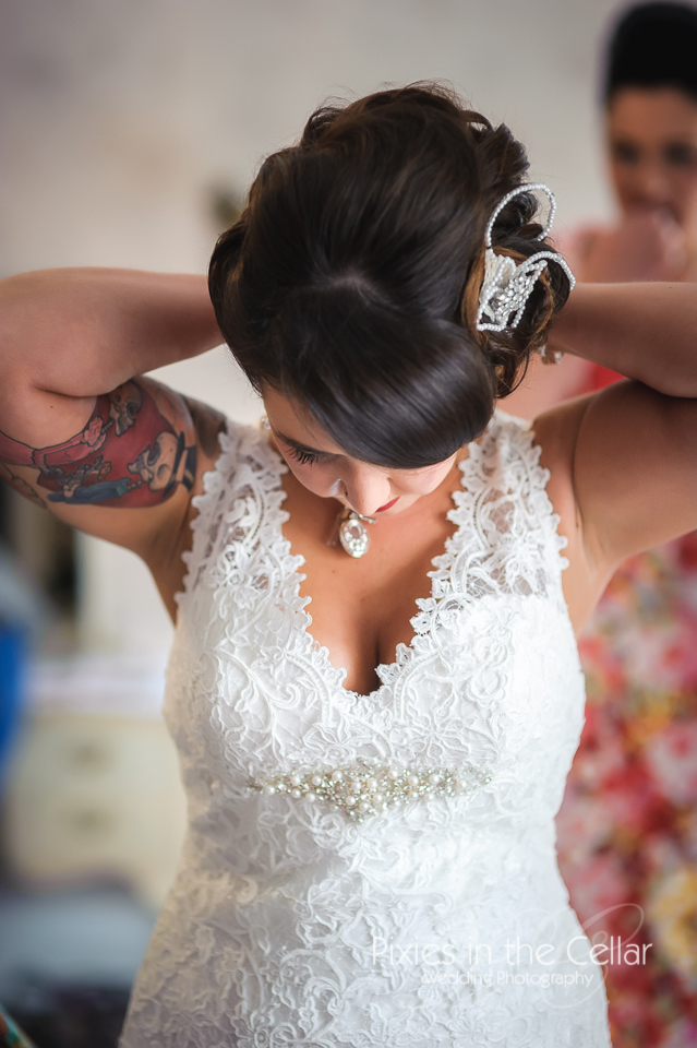 Tattooed Wedding - Arley Hall Photography