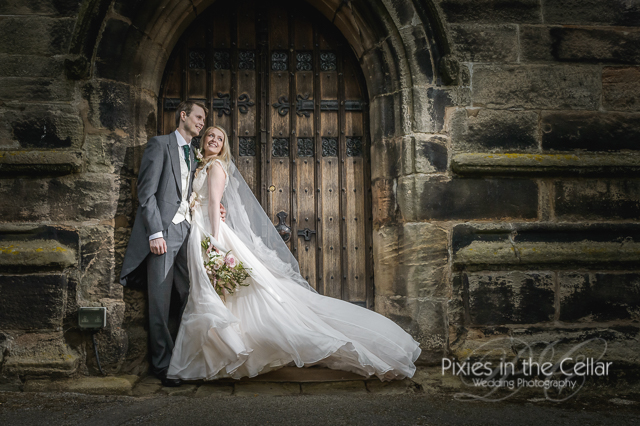 belle epoque wedding photography cheshire church photo