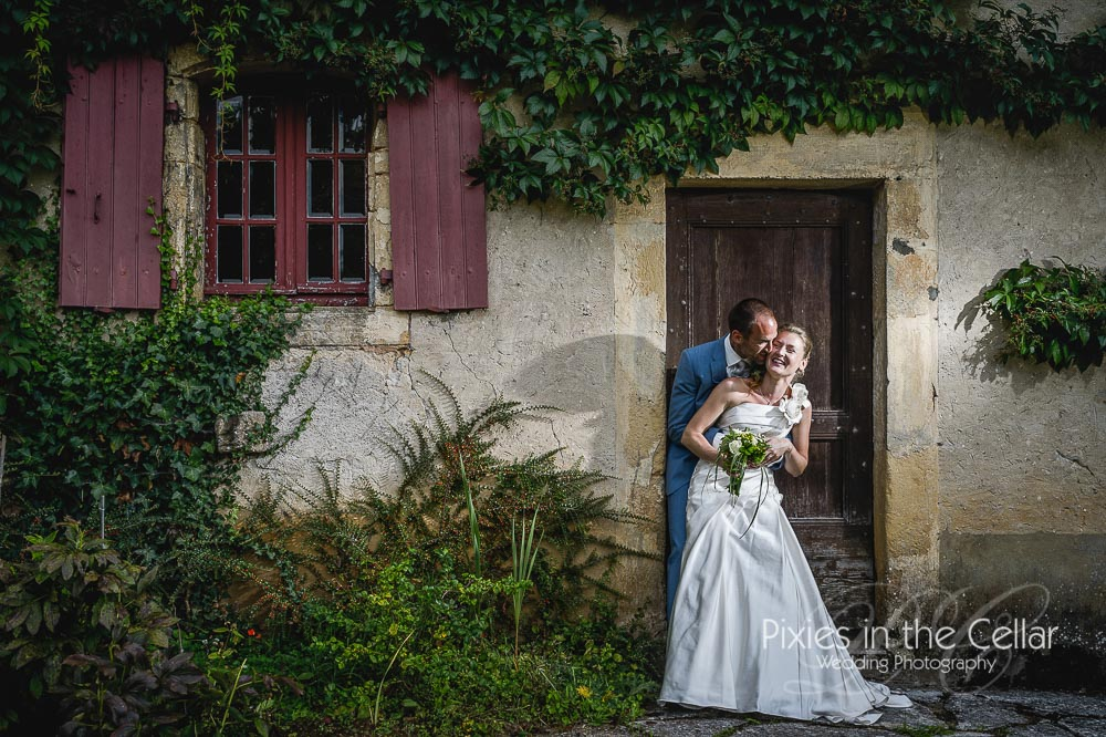 Rustic dordogne French wedding