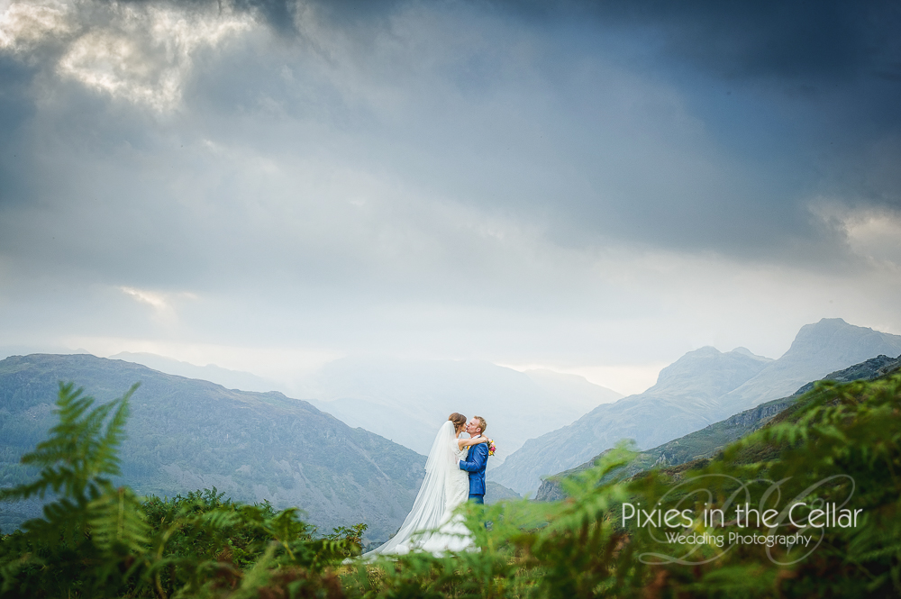 Best views Lake District Wedding Photography