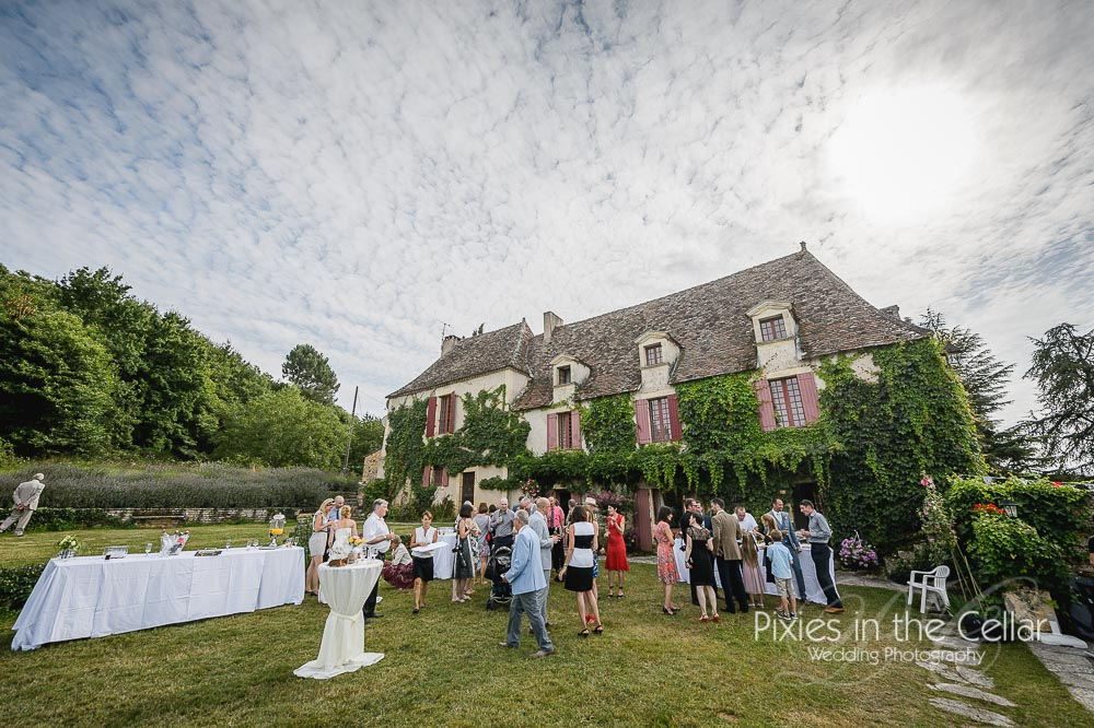 Domaine des farguettes wedding reception