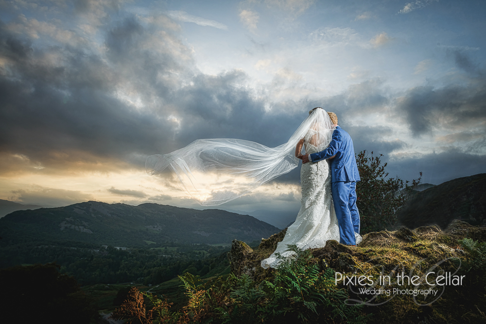 Lake District Wedding Photography Grasmere amazing views