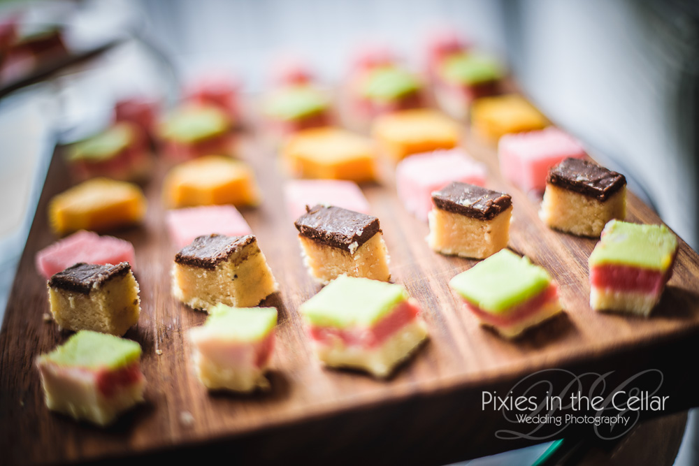 Indian sweets for wedding canapés