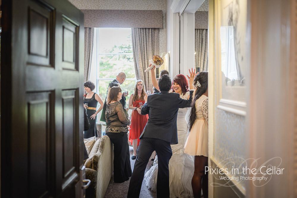 Documentary Mottram Hall wedding photography