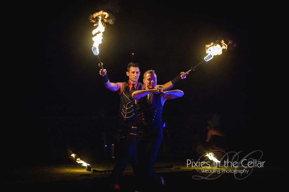 Flame-Oz-wedding-Fireshow