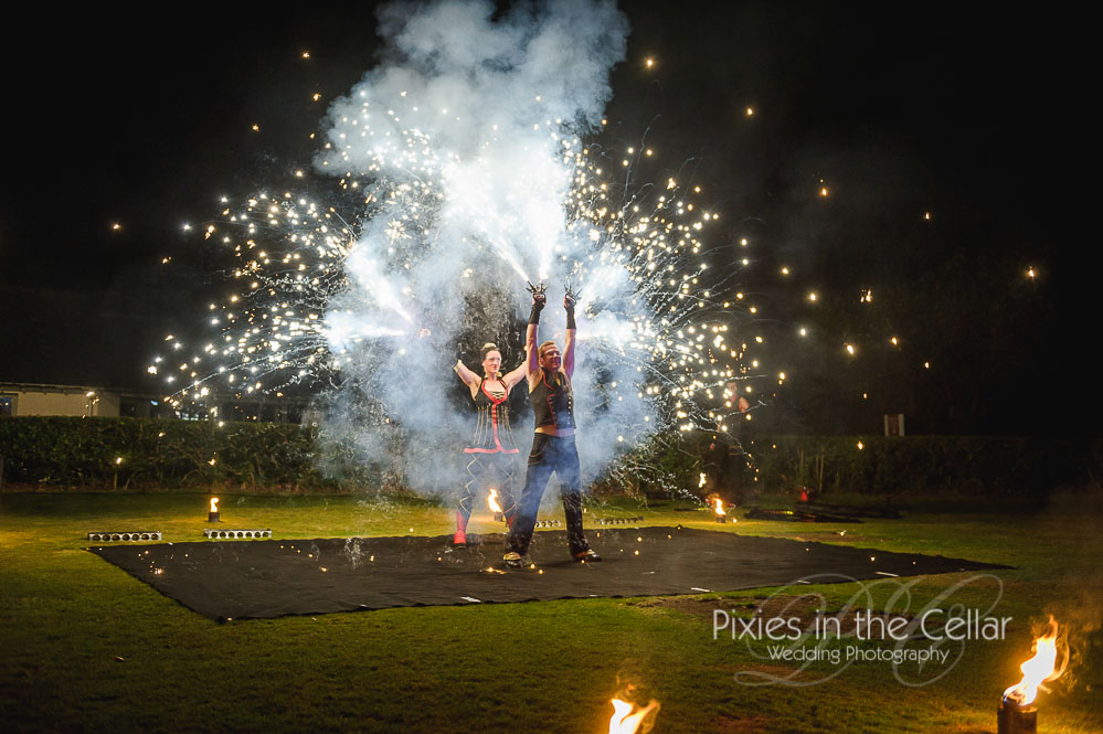 Fireshow wedding photography