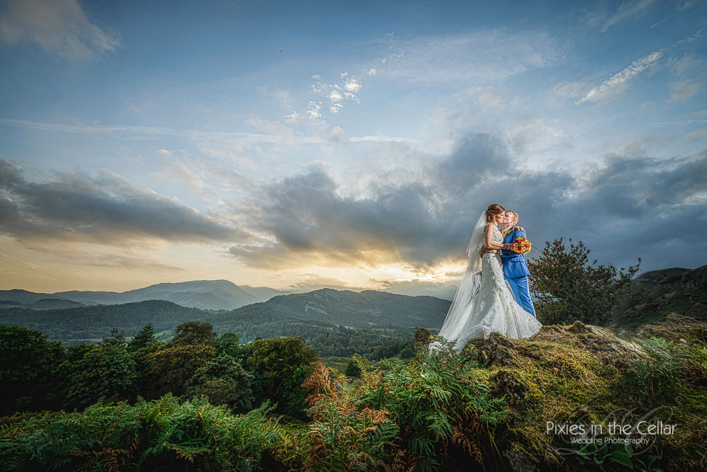 Lake District wedding at Dale lodge hotel