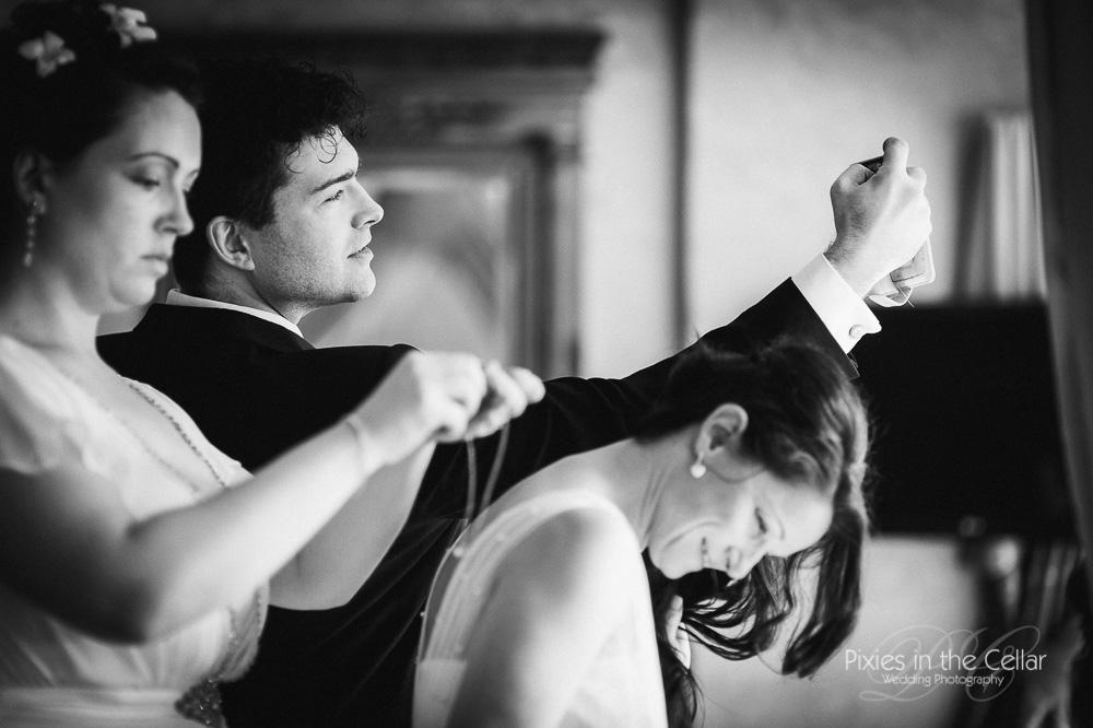 lesbian cheshire wedding preparations