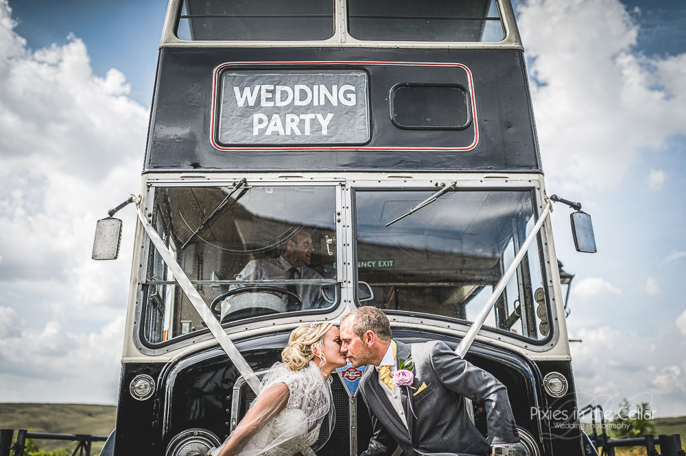 wedding bus greater manchester