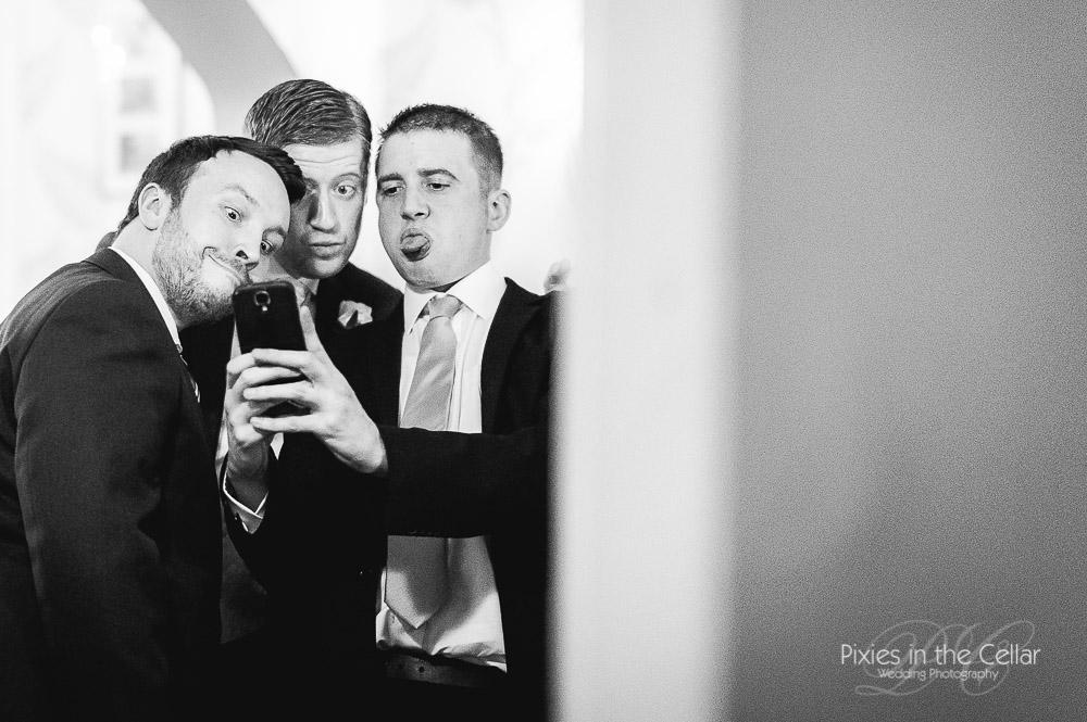 Wedding selfie cheshire