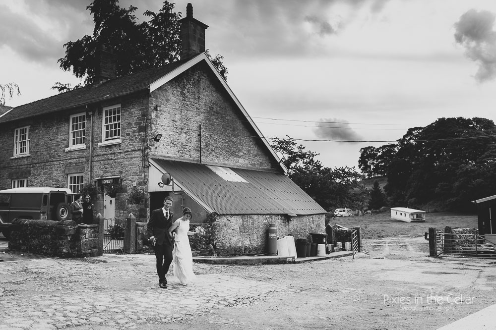 Hartington rustic peak district wedding