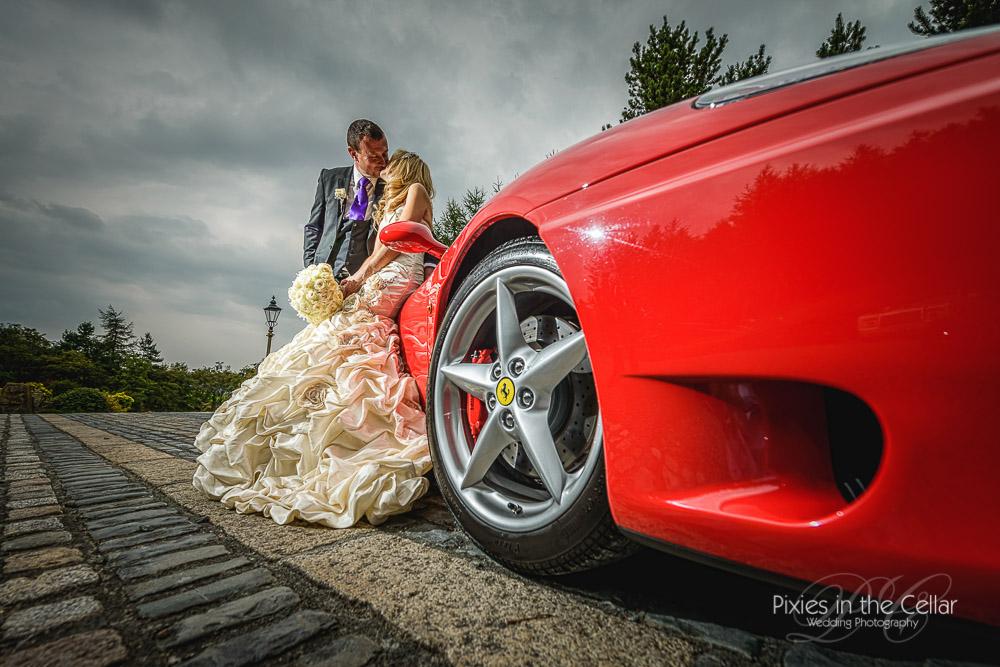 Ferrari manchester wedding photographers