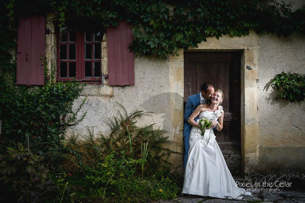 French wedding dordogne