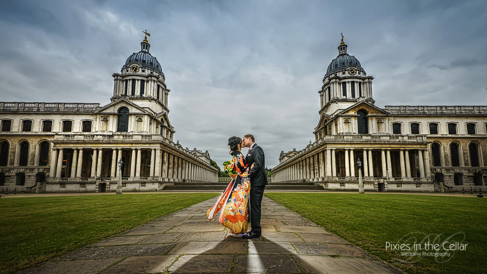 Japanese Wedding Greenwich royal naval college