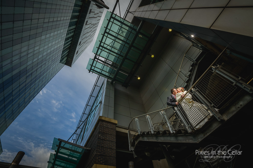 Beetham tower Wedding Manchester