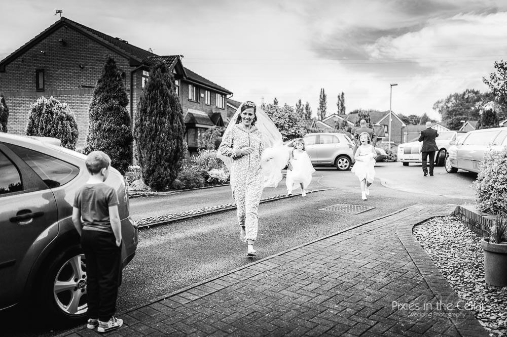 bride onesie veil Manchester