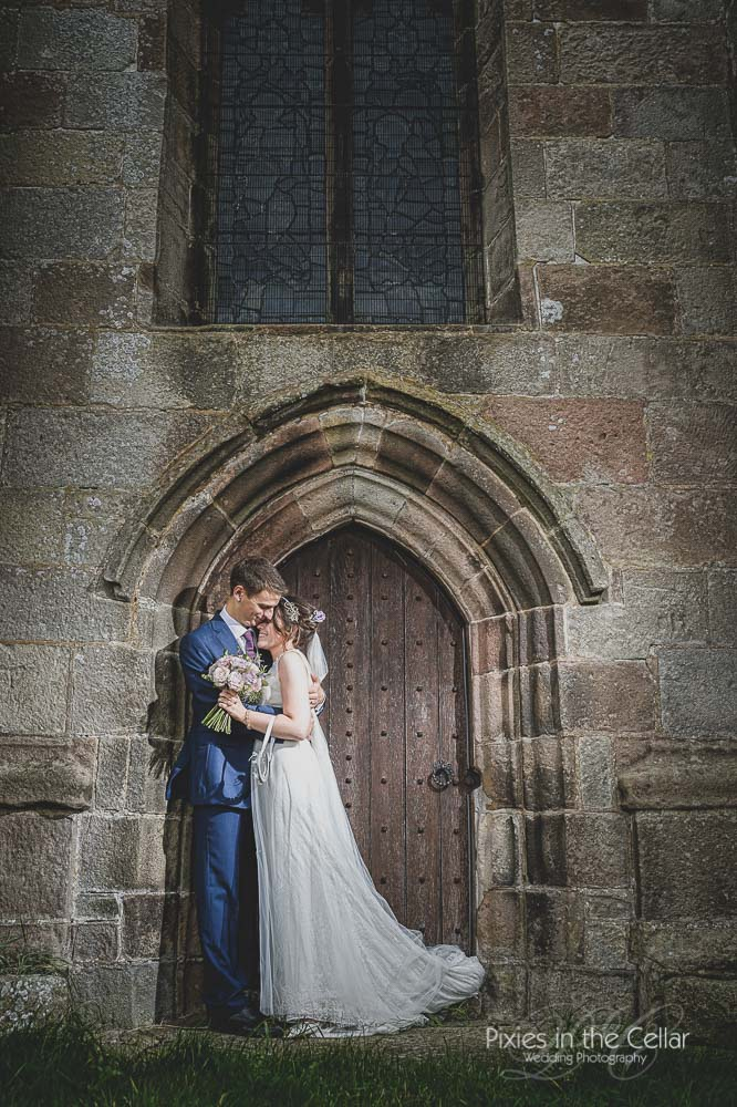 St Giles Church Hartington Wedding Photography