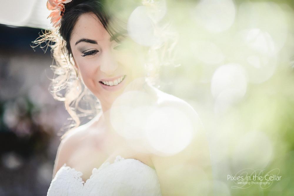 Summery bride Cheshire wedding Abbeywood