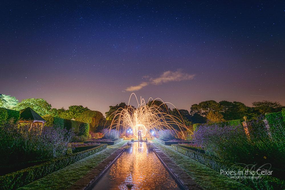 Abbeywood estate wedding starry night