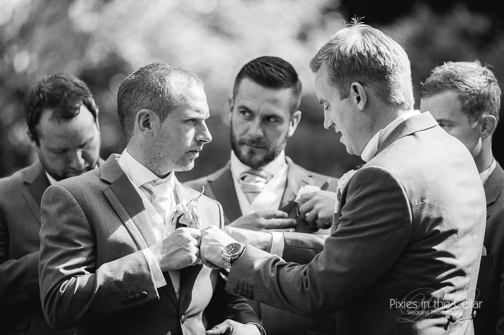 Lancashire wedding groomsmen