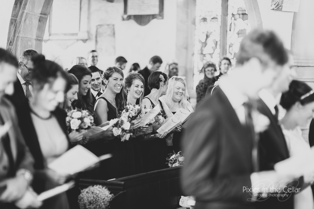 Church wedding photography UK